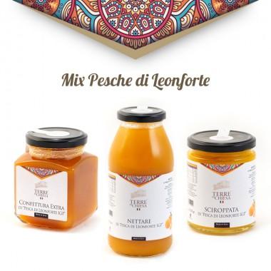 Leonforte's peach mix pack